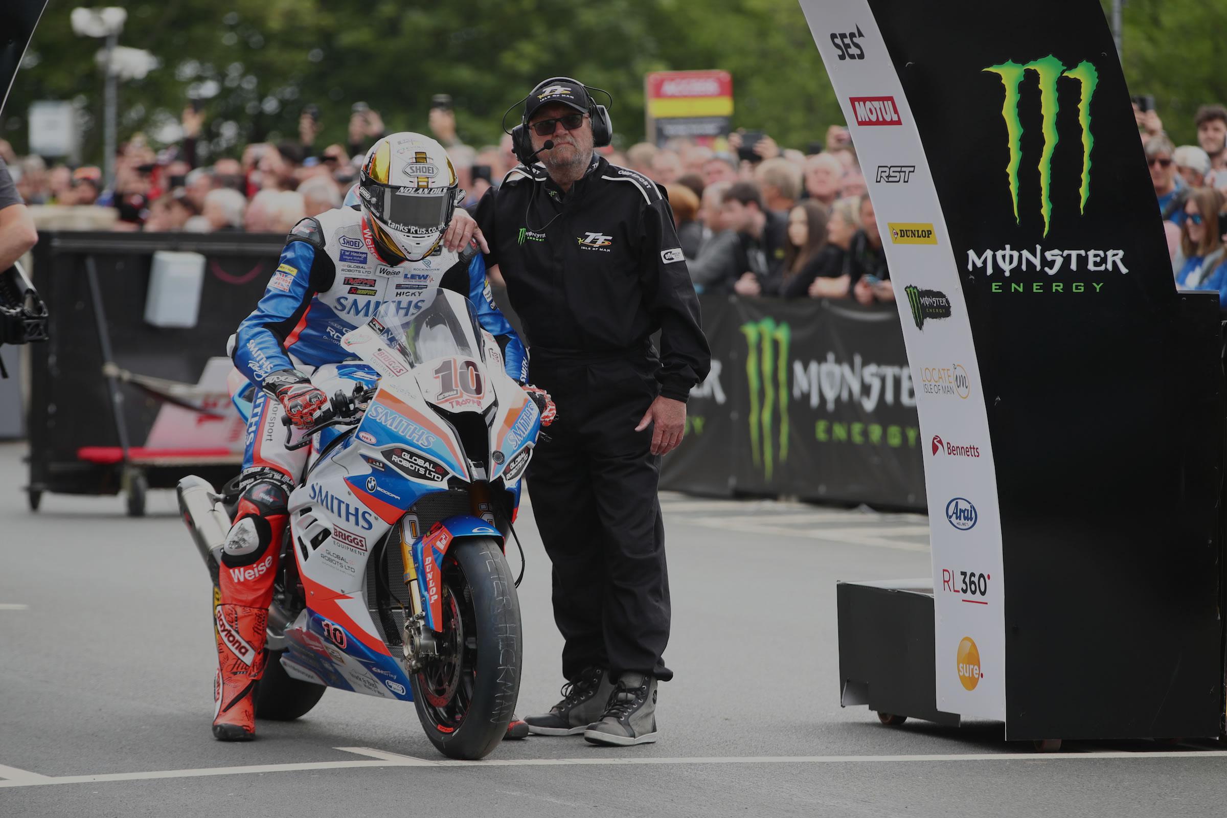 Peter Hickman - Isle of Man TT 2019 Senior TT Start Line