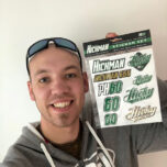Official Peter Hickman Sticker Set