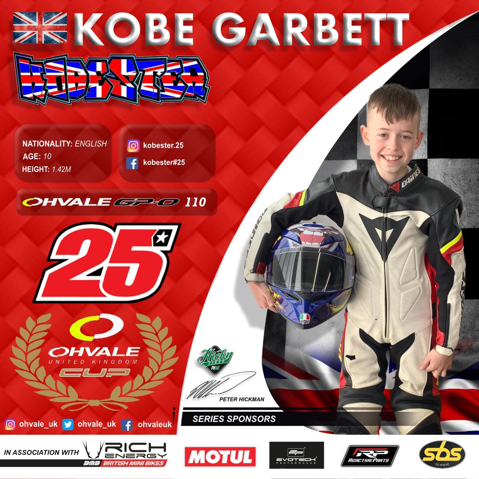 Kobe Garbett - OH Vale Cup